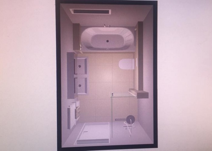 De Spaan Microcement Badkamer Microbeton Naadloos Wanden Douche 3D ontwerp 6