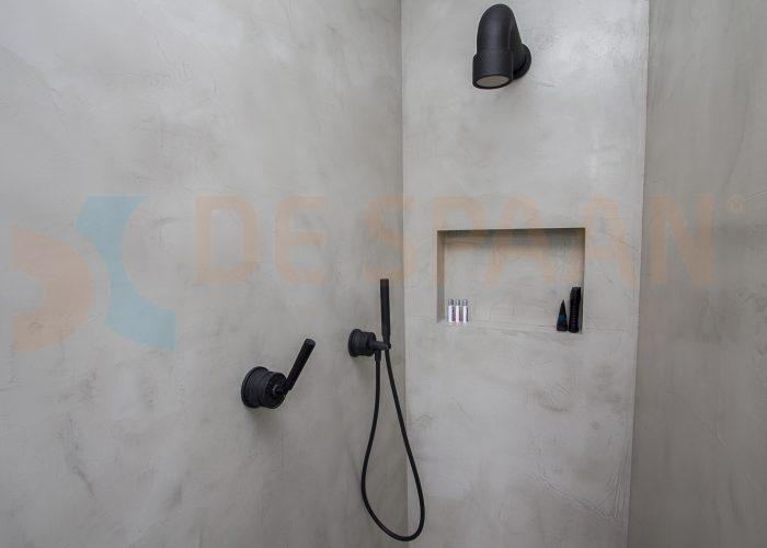 Naadloze badkamer wanden