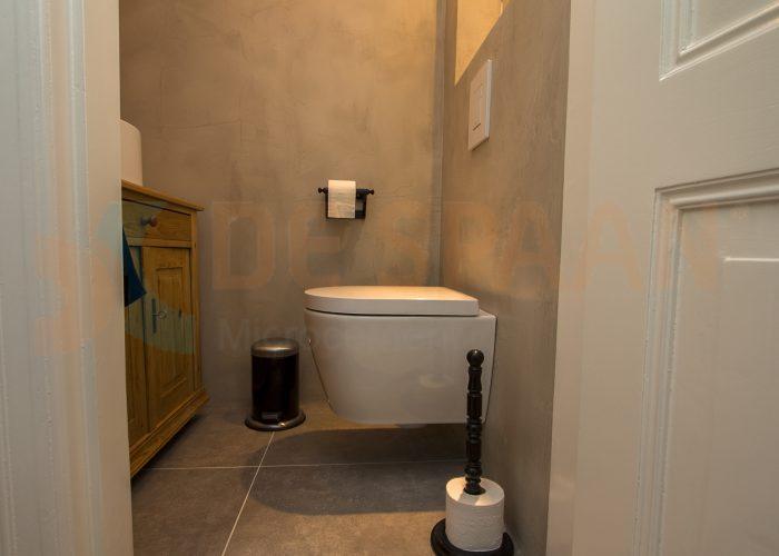Toiletrenovatie Microcement Naadloze Wanden Gietvloeren Showroom Arnhem