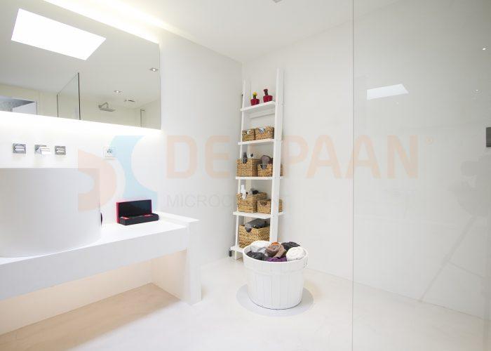 De spaan microcement u2013 badkamer van beton microcement project oosterbeek