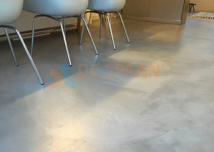 Gietvloer Betonvloer Haarlem Amsterdam Naadloze Woonvloer Microcement