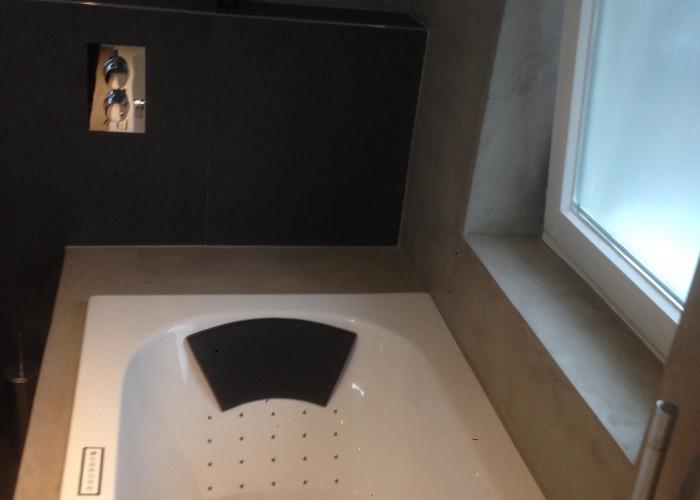 microcement badkamer wanden