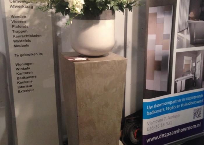 De Spaan Microcement microcement arnhem betonlook meubel
